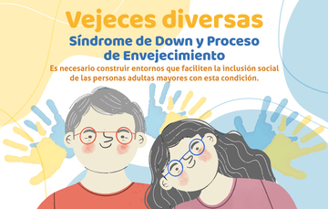 Dos personas con Síndrome de Down