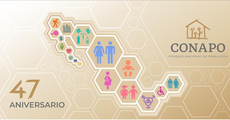 47 Aniversario del Consejo Nacional de Población (CONAPO)
