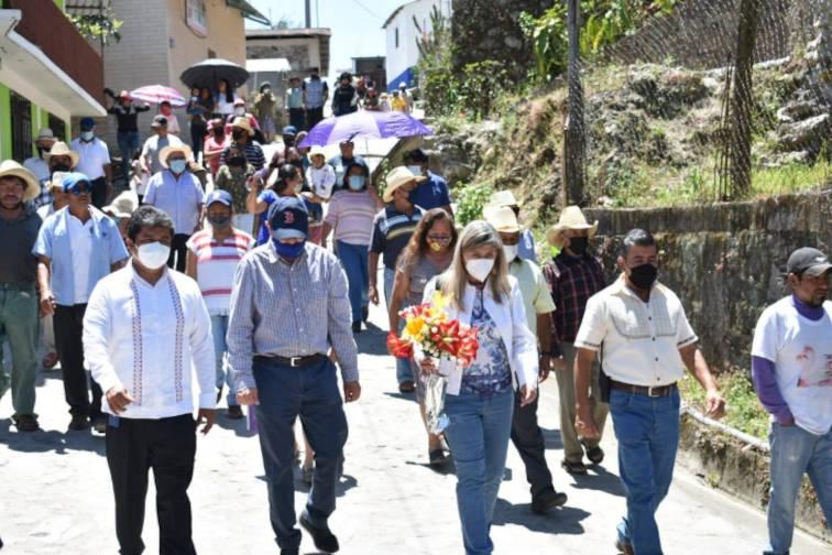 Inaguración Sucursal Telegráfica de Totontepec Villa De Morelos, Oaxaca