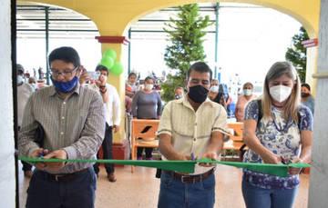 Directora de Telecomm realiza gira de trabajo por el estado de Oaxaca