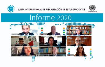 La Junta Internacional de Fiscalización de Estupefacientes presentó el Informe 2020