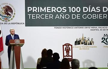 Fotografía del Presidente de México