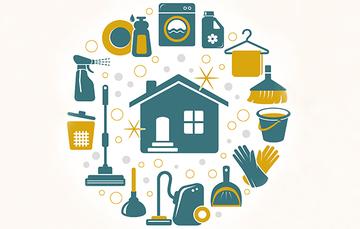 Cuidados y limpieza dentro del hogar