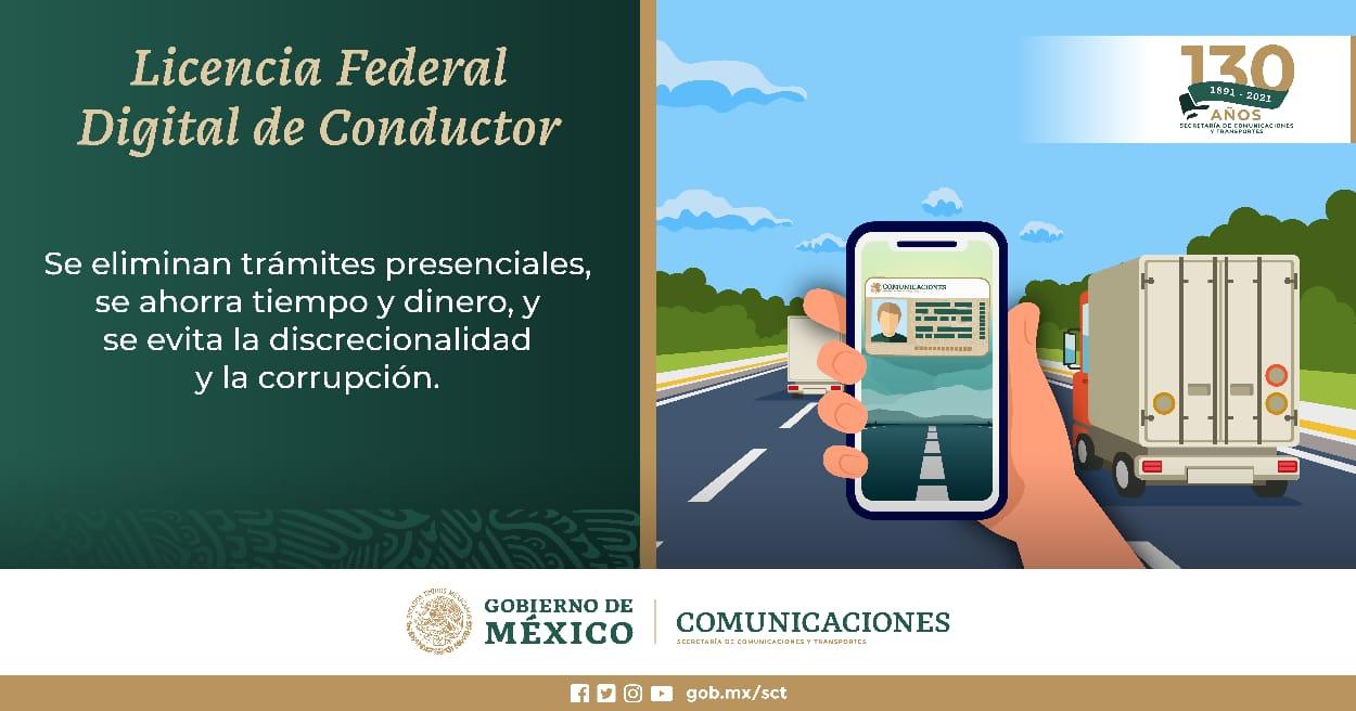 Da inicio expedición de Licencia Federal Digital | Secretaría de Comunicaciones y Transportes | Gobierno | gob.mx
