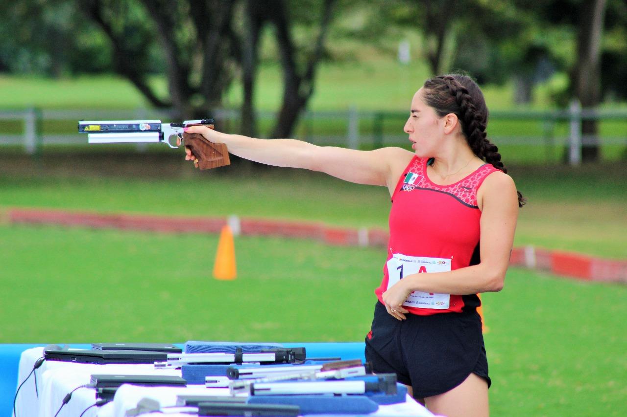 Tamara Vega, pentatleta mexicana. CONADE
