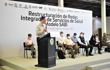 Evento para la Restructuración de Redes Integradas de Servicios de Salud en el Municipio de Asunción Nochixtlán, Oaxaca