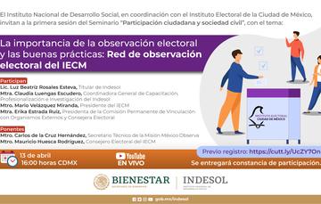 """Seminario """"Participación ciudadana y sociedad civil"""""""