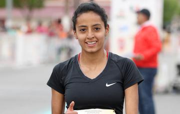 Valeria Ortuño Martínez, atleta mexicana. CONADE
