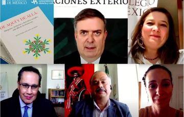 Canciller participa en presentación de libro sobre la relación de México con su diáspora