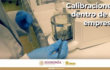 Para calibraciones internas, se recomienda seguir una serie de buenas prácticas.