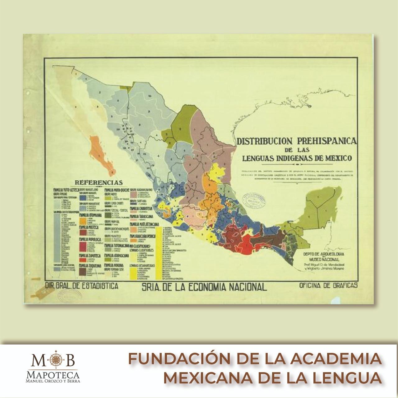 Fundación de la Academia Mexicana de la Lengua