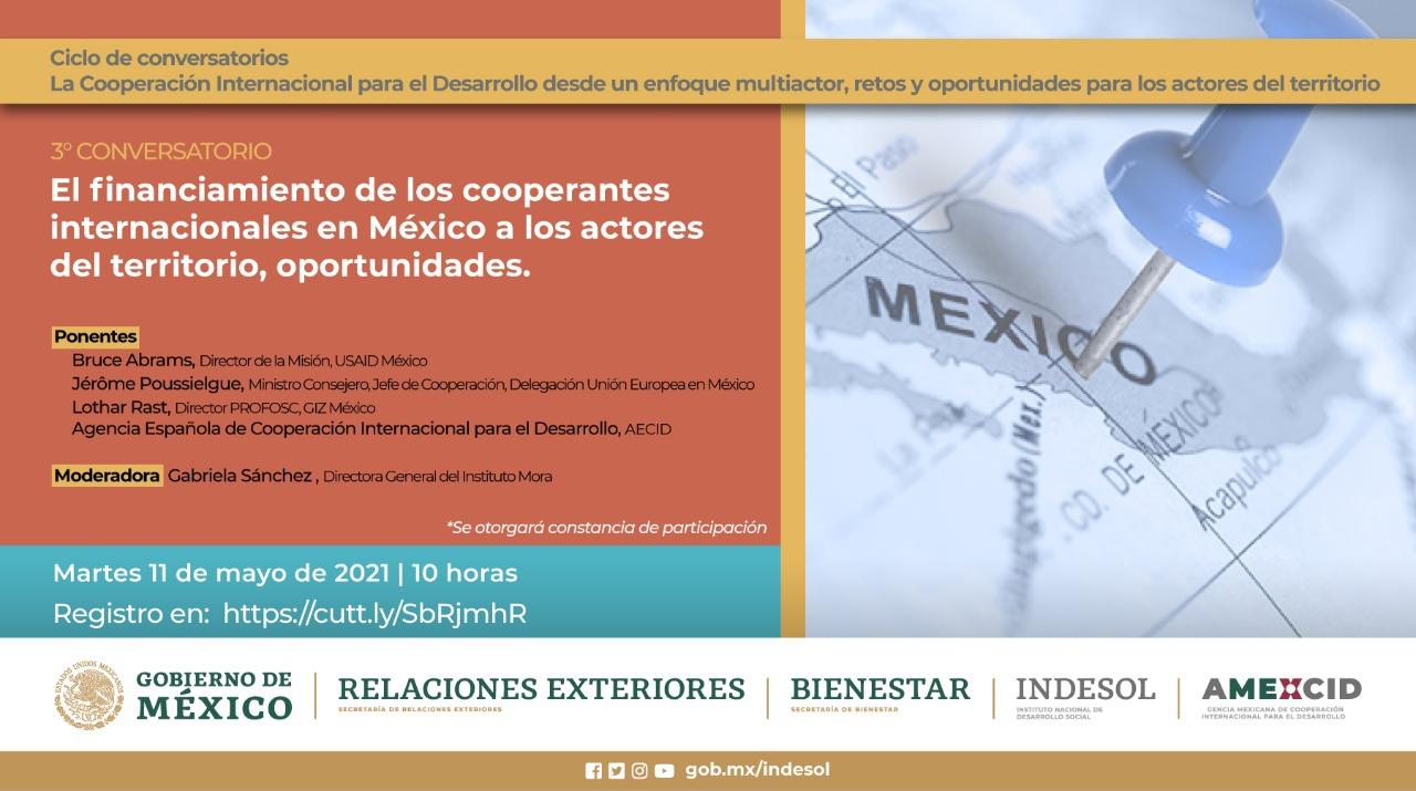 """Ciclo de conversatorios """"La Cooperación Internacional para el Desarrollo desde un Enfoque Multiactor, Retos y oportunidades para los Actores del Territorio"""""""
