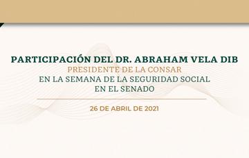 Semana de la Seguridad Social en el Senado.