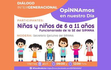 Imagen de difusión del diálogo intergeneracional.