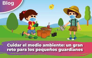 En este Día del Niño y de la Niña, además de celebrarte, te invitamos a que te sumes con tu granito de arena y contribuyas al cuidado y conservación del medio ambiente.