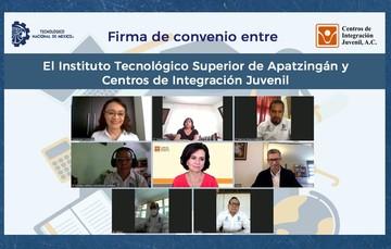 El Instituto Tecnológico Superior de Apatzingán y CIJ estrechan lazos para la prevención y el tratamiento de las adicciones