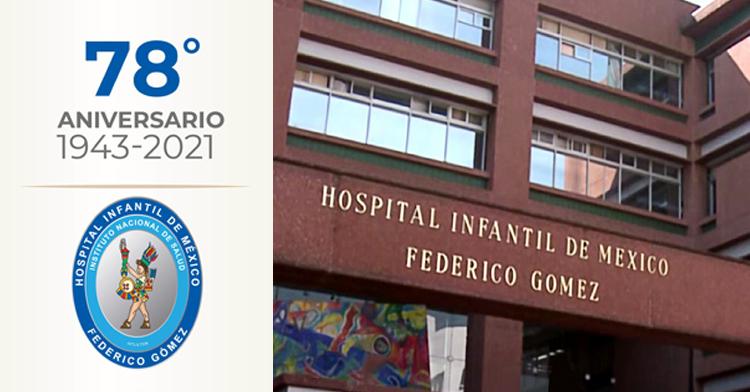 Fachada del Hospital Infantil de México Federico Gòmez.