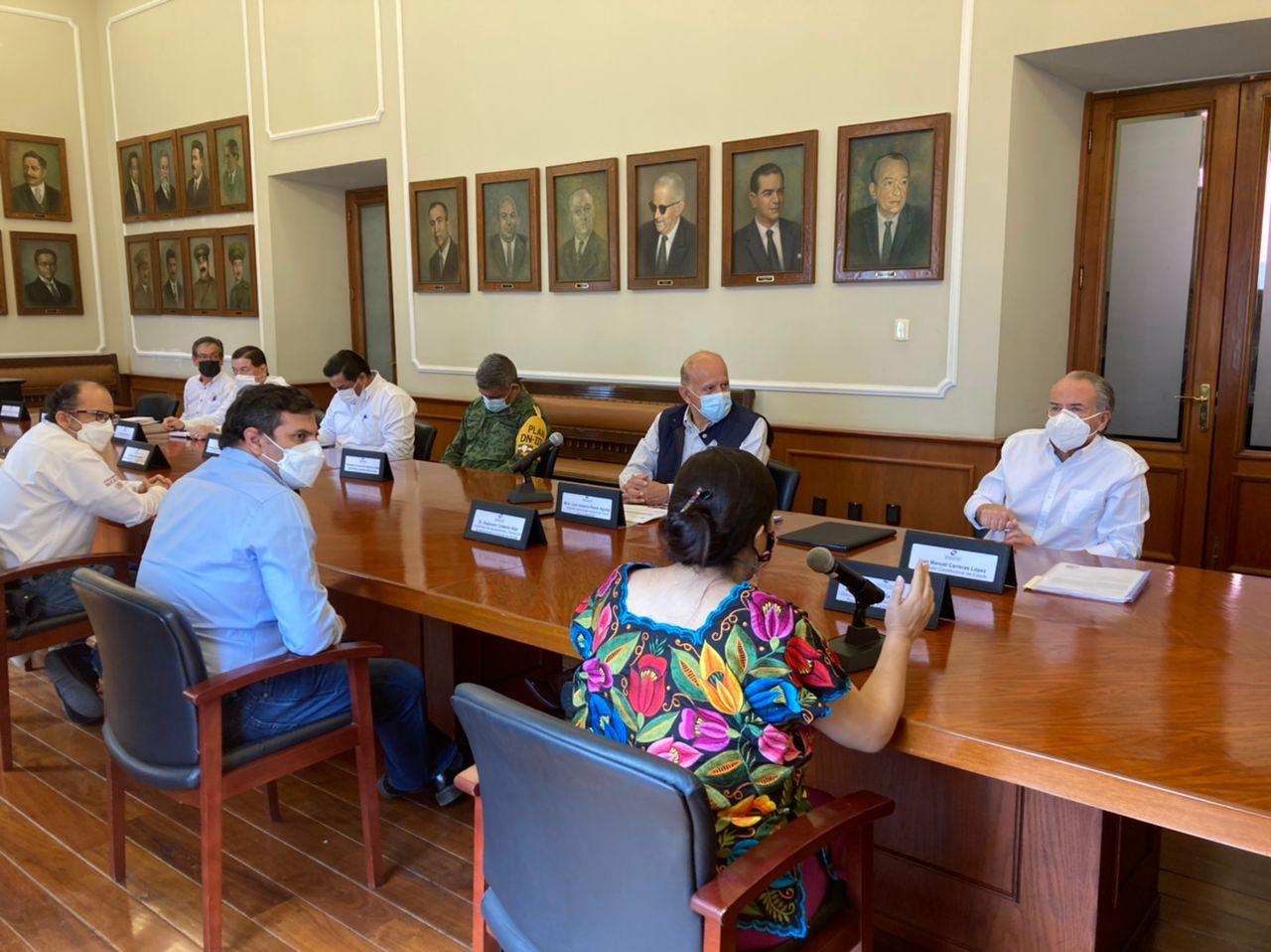Reunión de evaluación de la Estrategia Dinamizadora de Erradicación de Hepatitis C en San Luis Potosí.