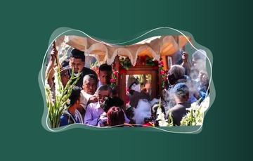 El día del Albañil proviene de celebraciones precolombinas para la petición de lluvias y la obtención de buenas cosechas al inicio del ciclo agrícola.