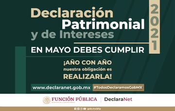 Mayo, mes de la Declaración Patrimonial y de Intereses