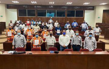 Alista Agricultura fase de capacitación a la tripulación de la flota camaronera nacional sobre Dispositivos Excluidores de Tortugas
