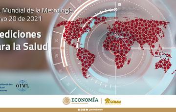 Día Mundial de la Metrología que se lleva a cabo cada año para conmemorar la firma de la Convención del Metro y la colaboración entre los países en temas relacionados con la ciencia de la medición y estándares de medición.