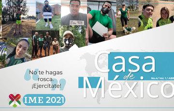 Casa de México, Abril 2021