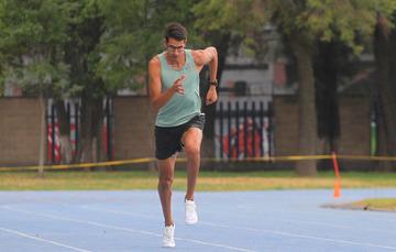 Jesús Tonatiu López Álvarez, se ha convertido en un referente de los 800 metros planos. CONADE