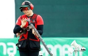 Alejandra Ramírez Caballero, tiradora mexicana de escopeta. CONADE