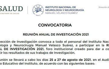 35° REUNIÓN ANUAL DE INVESTIGACIÓN 2021