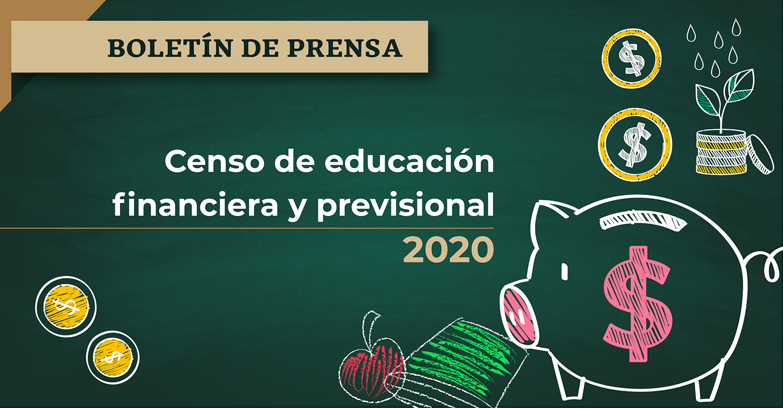 Censo de educación financiera y previsional de las AFORES al cierre de 2020.