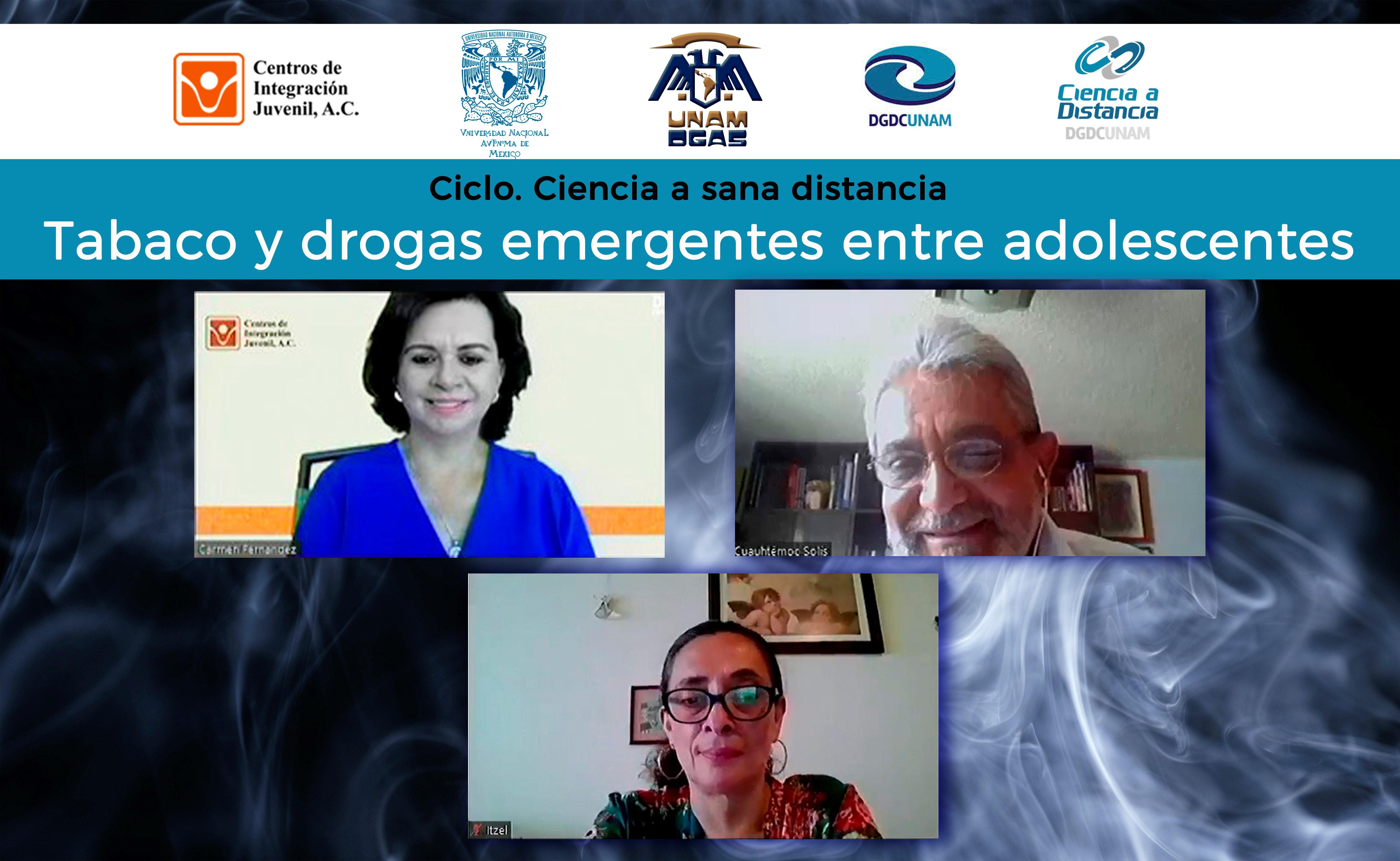 """La directora general de CIJ presentó la ponencia """"Tabaco y drogas emergentes entre adolescentes"""""""