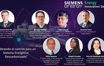 La Dra. González destacó el trabajo que ha realizado el INEEL en desarrollos tecnológicos e investigación aplicada en energías renovables.