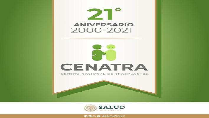Acompáñanos a la celebración del 21 Aniversario del Centro Nacional de Trasplantes y a la conmemoración del Día Mundial de Pacientes trasplantados