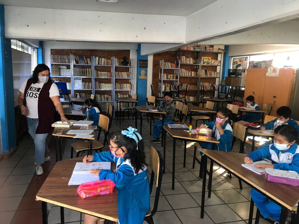 Regresan a clases presenciales este lunes más de 1.6 millones de alumnos de todos los niveles educativos: Educación
