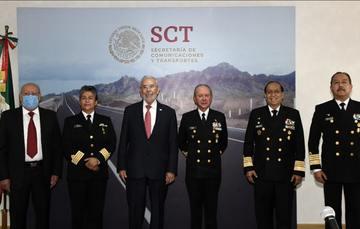 Traspaso de la Coordinación General de Puertos y Marina Mercante a SEMAR