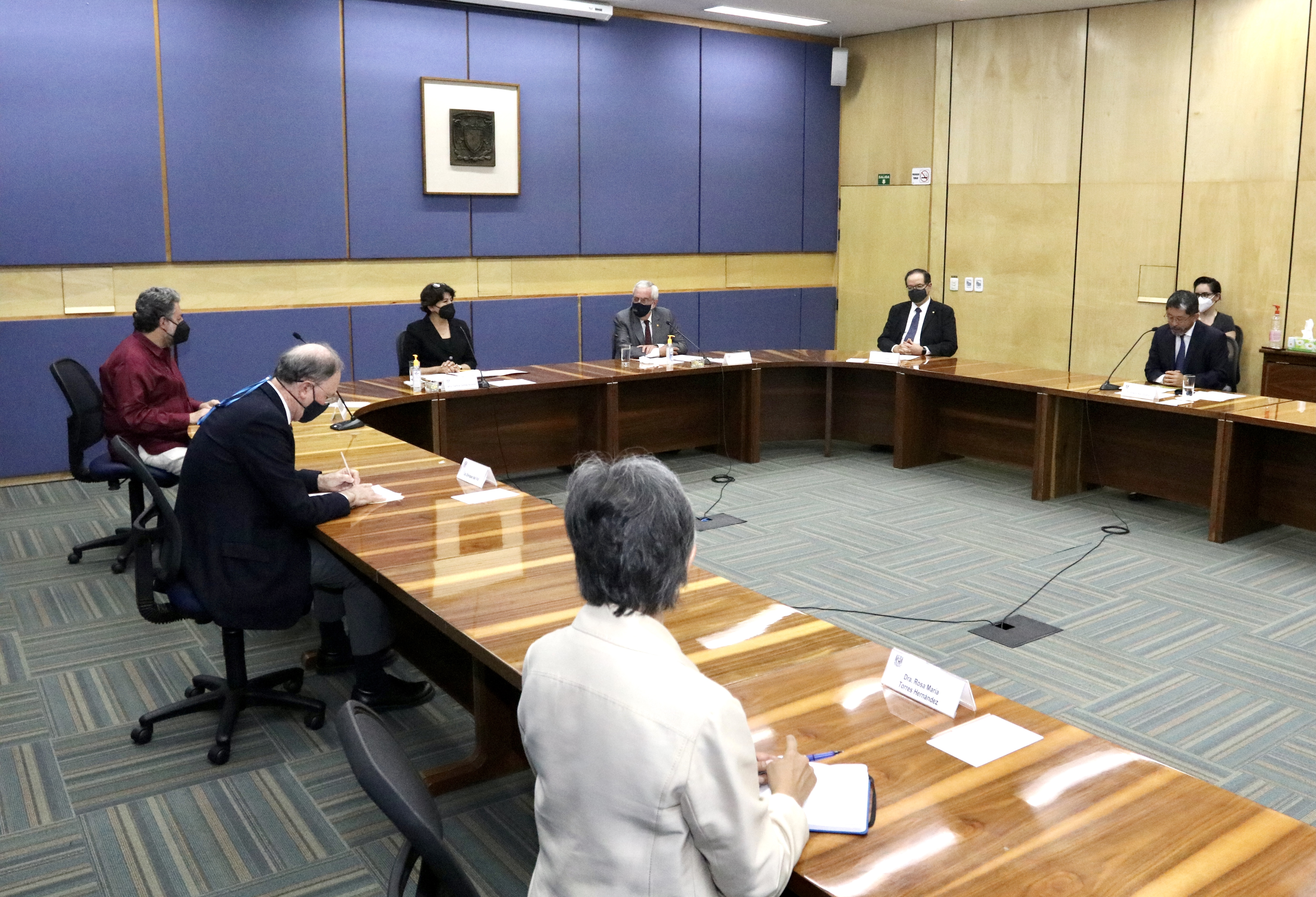 Comunicado No. 19 Firman UNAM y SEP convenio para integrar sistema de información de educación superior