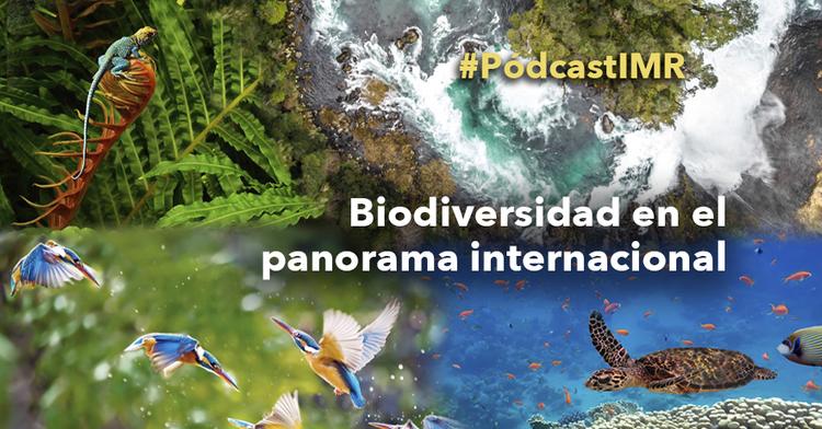"""Pódcast """"Biodiversidad en el panorama internacional"""""""