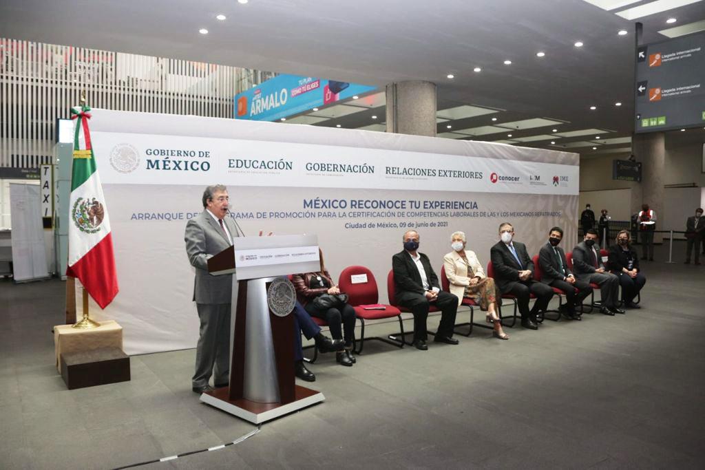 Comunicado conjunto No. 20 Inicia el programa de Promoción para la Certificación de Competencias Laborales Migrantes Repatriados