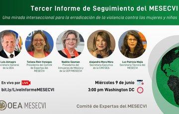 Tercer informe de seguimiento del MESECVI
