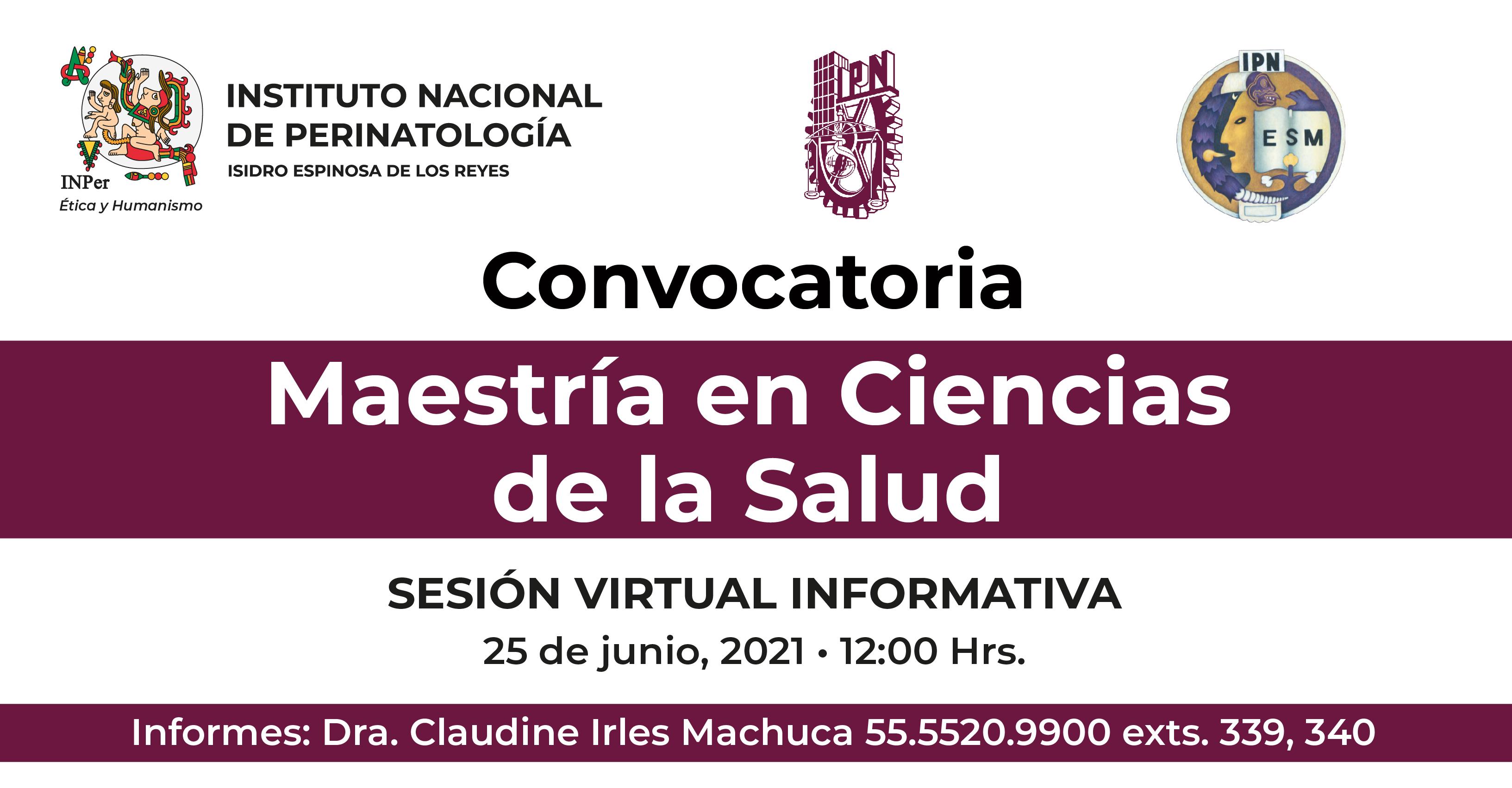 CONVOCATORIA DE MAESTRÍAS Y DOCTORADO EN CIENCIAS MÉDICAS 2022-2023