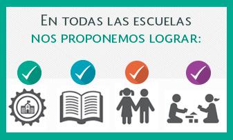 ¿Qué nos proponemos lograr con #LaEscuelaAlCentro?