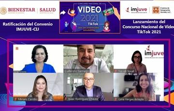 """El Imjuve y Centros de Integración Juvenil invitan a participar en el Concurso Nacional de Video 2021 """"TikTok por las juventudes saludables"""""""