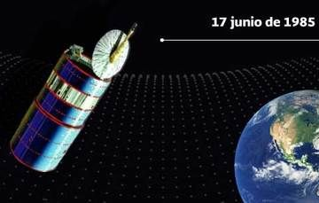 El satélite Morelos I cumple 36 años