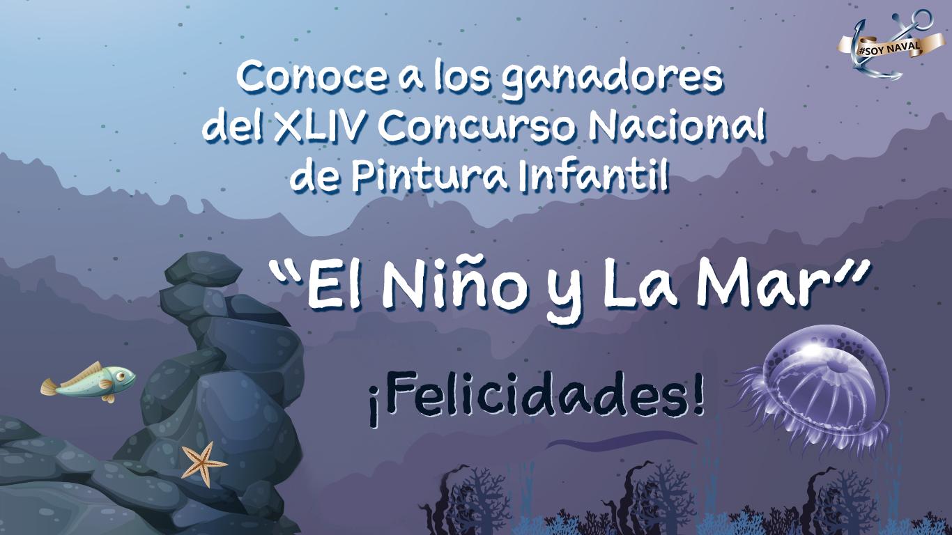 Participa en el XLIV Concurso Nacional de Pintura Infantil El Niño y La Mar