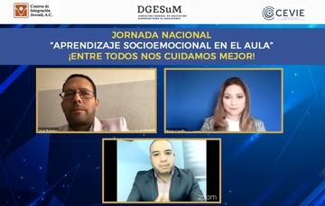 """La DGESuM y CIJ inauguraron la Jornada Nacional """"Aprendizaje Socioemocional en el Aula"""""""