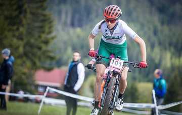 Seleccionada en ciclismo de montaña Daniela Campuzano. Cortesía