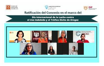 Se ratificó el convenio entre Centros de Integración Juvenil y DIF municipal de Tijuana