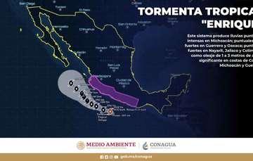 Tormenta Tropical Enrique, 2021