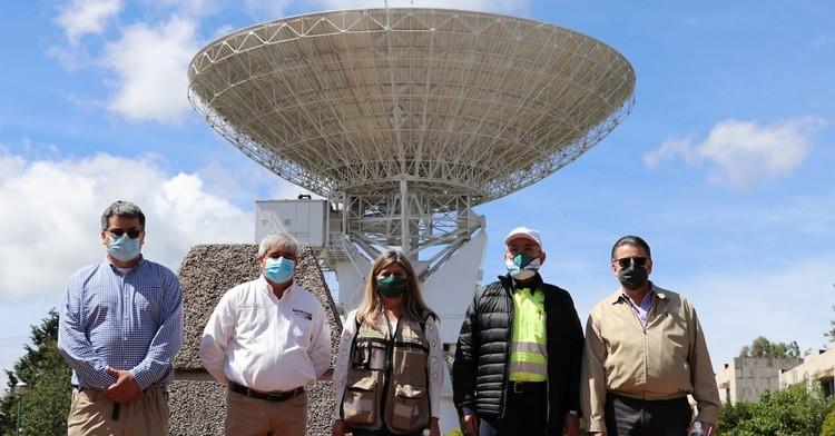 Evalúa Titular de la SCT, Impulso a Estación  Terrena Satelital de Tulancingo